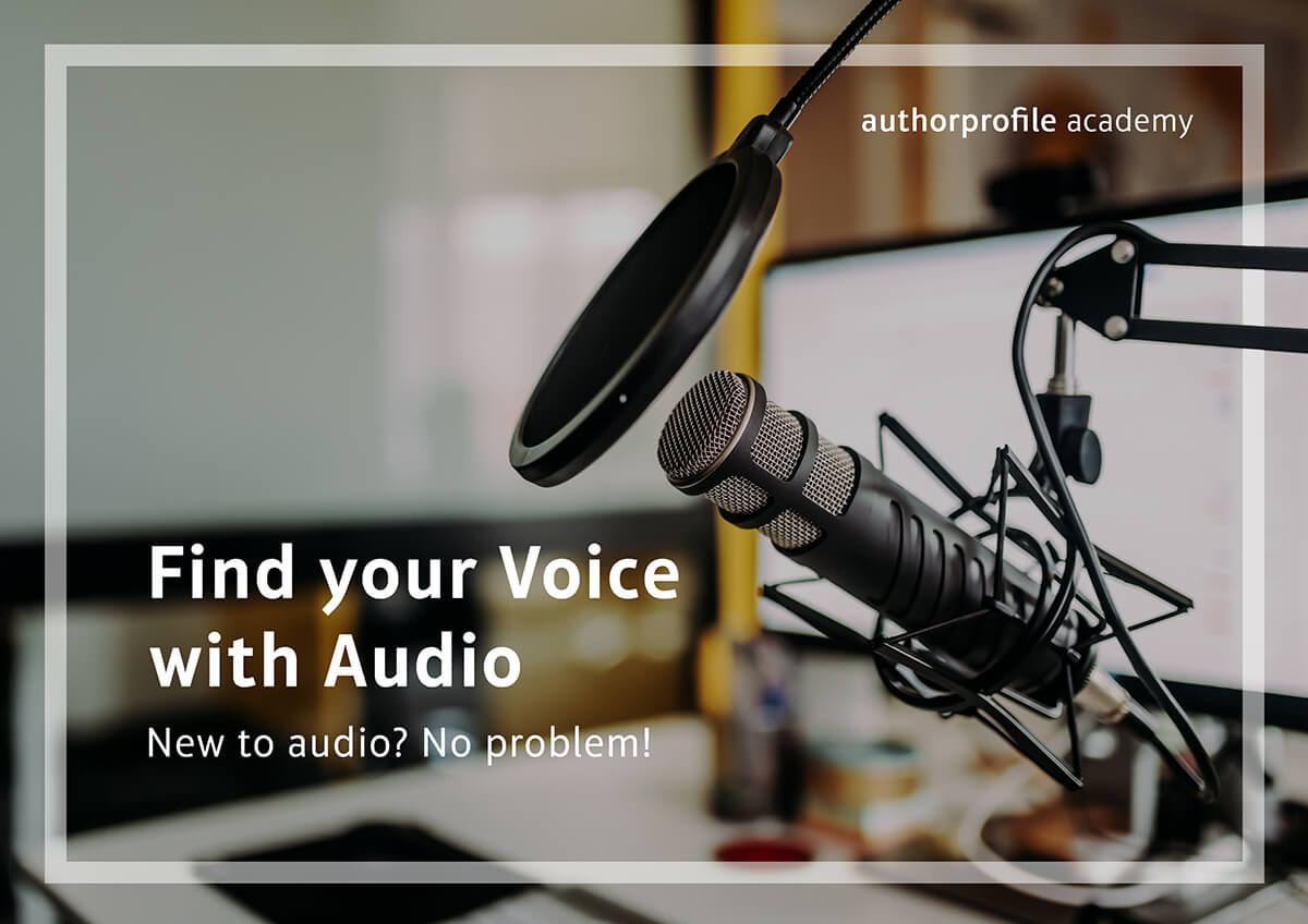 FIND YOUR VOICE WITH AUDIO