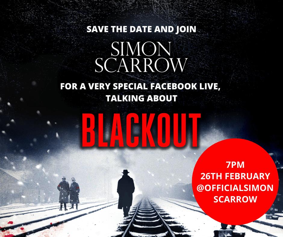 FACEBOOK LIVE: SIMON SCARROW